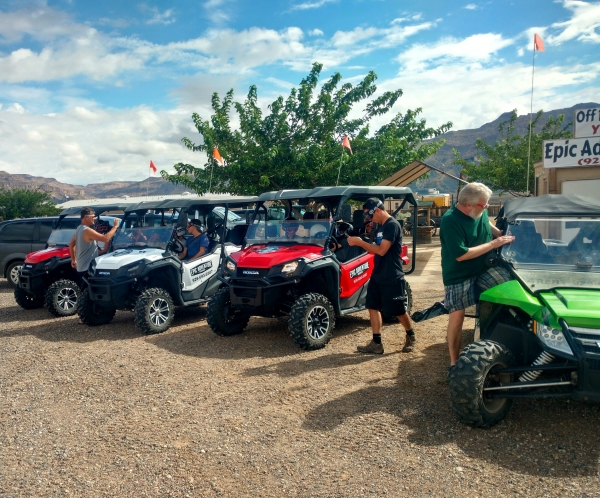 Utility Terrain Vehicle Tours
