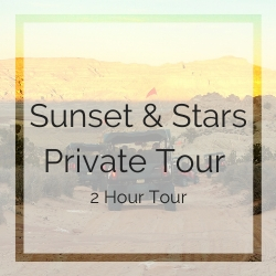 Sunset and Stars Private Tour